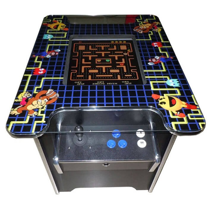 Cocktail Arcade Game Table - Cue Power Billiards