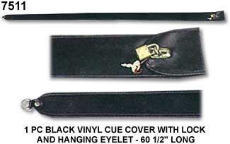 1 Pce Vinyl Cue Cover Cue Power Billiards Australia