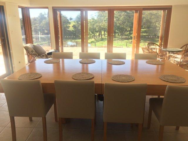 Custom Made Dual Dining Pool Table Cue Power Billiards