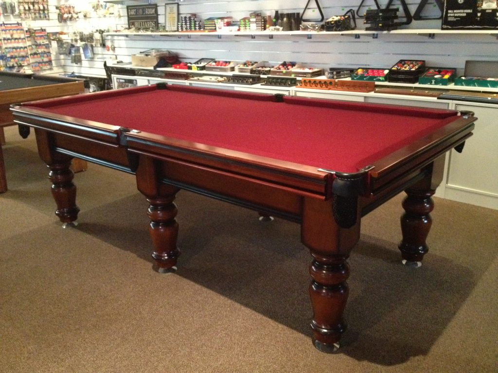8ft Deluxe Pool Table Cue Power Billiards Australia