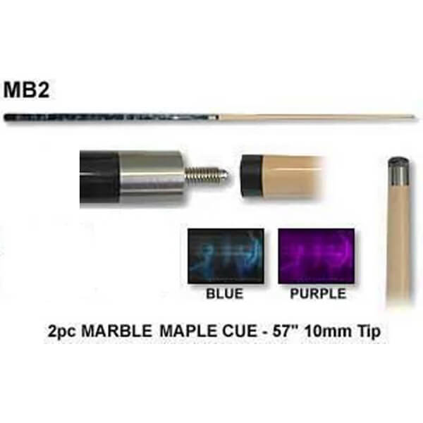 Marble Maple Cue 2 Pce Cue Power Billiards Australia