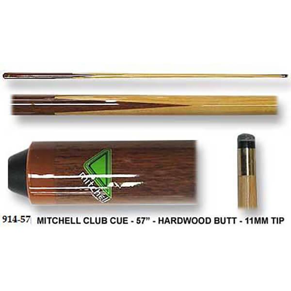 1 Pce 57 Quot Mitchell Club Cue Cue Power Billiards Australia